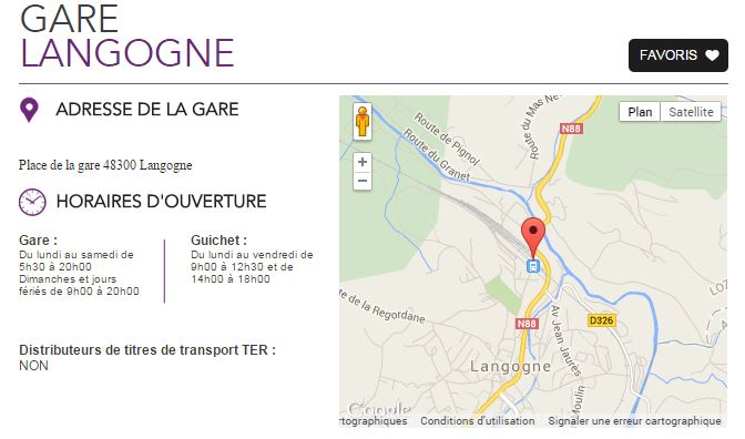 Gare Langogne